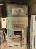 caldera de biomasa para granja - foto