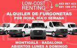 Alquiler low cost furgonetas badalona - foto