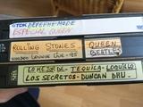 vendo lote 3 cintas musicales en vhs - foto