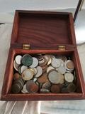 Monedas antiguas del mundo. - foto