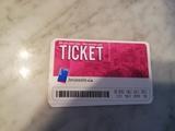 6 tickets metro Bruselas - foto