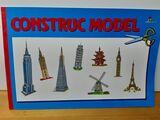 Construcción Model recortables - foto