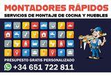 MONTADORES RÁPIDOS  - COCINAS Y MUEBLES - foto