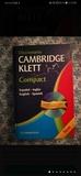 DICCIONARIO CAMBRIDGE KLETT COMPACT - foto