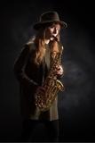 Saxofonista. huelva - foto