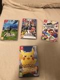 Super Smash-Pokemon Pikachu-Zelda-Mario - foto