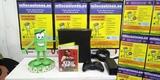 Xbox 360 negra + juego + mando - foto