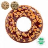 Flotador rueda donut chocolate 114 cm - foto