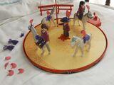 Pista de caballos playmovil - foto