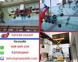 Servicio robot cristalero con ventosa - foto