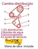 Cambio distribución - foto