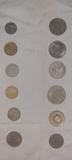 monedas extranjeras y españolas - foto