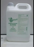 Garrafa de Hidro alcohol de 5 litros - foto