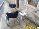 silla de ruedas prácticamente nueva - foto