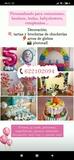 Decoración unicornio globos chucherÍas - foto