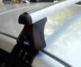 Baca de coche Cruz aluminio. - foto