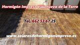 Hormigón Impreso Villanueva de la Torre - foto