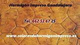 Hormigón Impreso y Pulido Guadalajara - foto
