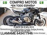 COMPRAMOS MOTOS , TODO ESPAÑA - foto
