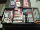 Colección de barajas de cartas - foto