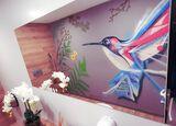 Graffiti profesional mural artistico - foto