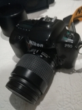 Nikon F50 + flash + bolso - foto