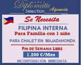 FILIPINA INTERNA PARA ARAVACA/ 1200 E/ME - foto