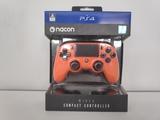Mando PS4 Nacon Compact Naranja - foto