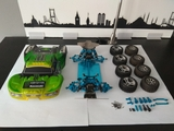 Chasis coche Rc wltoys Sort Course 1.18 - foto