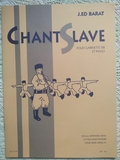 Chant Slave (J. Ed Barat) - foto