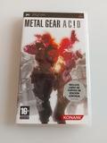 metal gear acid - foto
