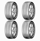 neumáticos 225/55/17 - foto