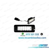Xq7 luces de matrÍcula led seat leon iii - foto