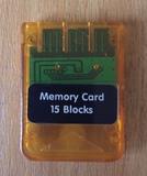 Memory Card  para Playstation 1 - foto