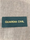 Distintivo Guardia Civil uniforme servic - foto