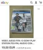 vídeo juego para PlayStation 3 fifa 13 - foto