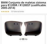 MALETAS ORIGINALES BMW R1200R - foto