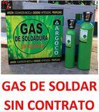 BOMBONAS GAS DE SOLDAR SIN CONTRATO - foto