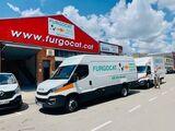 Alquiler furgonetas, camiones carrozado - foto