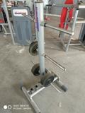 cargadero de pesas - foto