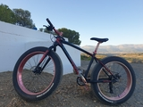 FAT BIKE BICICLETA NIEVE Y PLAYA - foto
