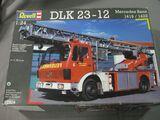 Revell camion bomberos dlk mercedes benz - foto