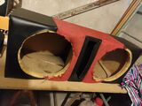 Cajón doble bass-reflex 12 pulgadas - foto