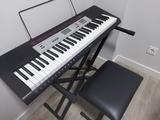 Piano Casio CTK-1500 + soporte + silla - foto