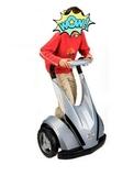 Treciclo patinete eléctrico - foto