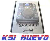 Reproductor table top. gemini cdj-300 - foto