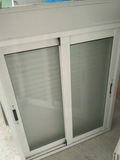 ventanas de aluminio blanca - foto