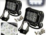 Potentes luces de leds 4 x 4. - foto
