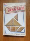 Juego de mesa falomir tangram de madera - foto
