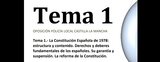 TEMARIO POLICÍA LOCAL CASTILLA LA MANCHA - foto